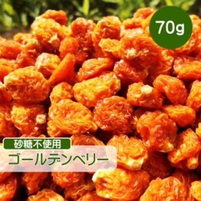ドライフルーツ ゴールデンベリー 70g ほおずき 砂糖不使用 無添加 ベリー 無糖 小分け ギフト チャック付き CFL