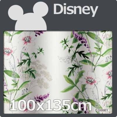 カーテン ディズニー 100x135cm 1枚 遮光 disney ミッキー  ワイルドフラワ−