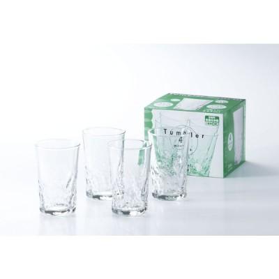 ガラス製品 和の趣一口グラス (4個入) [D65 x 104(最大径65)mm175cc]  料亭 旅館 和食器 飲食店 業務用