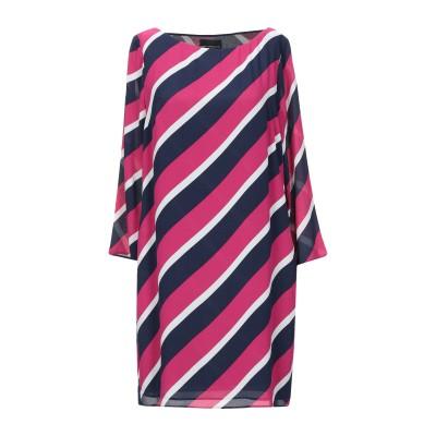 アトス ロンバルディーニ ATOS LOMBARDINI ミニワンピース&ドレス フューシャ 38 レーヨン 100% / ポリエステル ミニワンピ