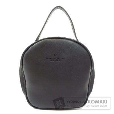 SELECT BAG セレクトバッグ ロゴ型押し ハンドバッグ 合成皮革 レディース 中古
