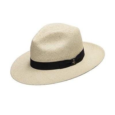 Ultrafino Fedora Packable Foldable Panama Straw Hat Classic 7 3/8【並行輸入品】