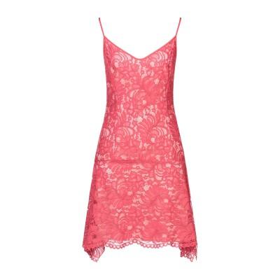 FRANCESCA PICCINI ミニワンピース&ドレス レッド 40 ナイロン 35% / コットン 35% / レーヨン 30% ミニワンピー