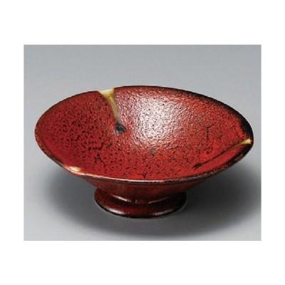 ☆ 小鉢 ☆ 紅柚子4.3高台鉢 [ 129 x 50mm ] 【料亭 旅館 和食器 飲食店 業務用 】