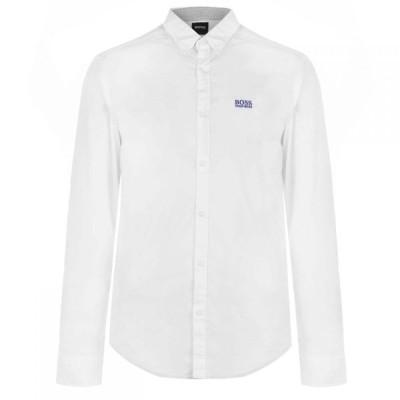 ヒューゴ ボス BOSS メンズ シャツ ワイシャツ トップス Oxford Shirt White