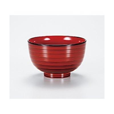 会津漆器 和食器 / 春慶 段付汁椀 寸法:φ10.5 x 6.5cm