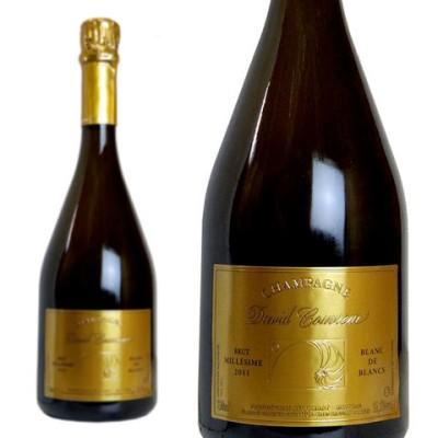 シャンパン ダヴィッド クヴルール ブリュット ブラン ド ブラン ミレジム2011年 750ml シャンパーニュ 白 箱なし