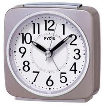 SEIKO セイコー 目覚まし時計 スタンダード アナログ PYXIS ピクシス 薄ピンクパール NR440P  お取り寄せ
