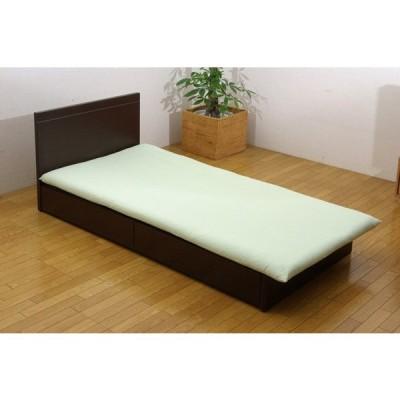 イケヒコ 【敷ふとんカバー】森の眠り セミダブルサイズ(125×215cm/グリーン)