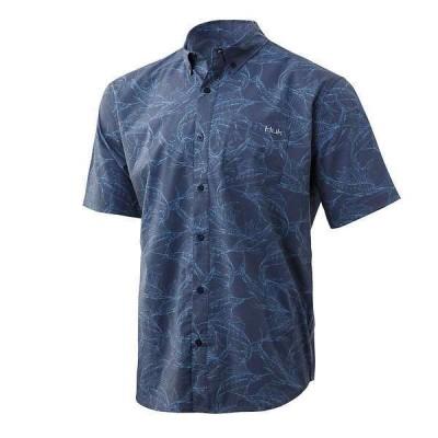 フック メンズ シャツ トップス Huk Men's Kona Stackin' Bills Shirt