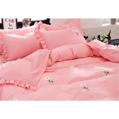 枕カバー 4点セット ふとんのシーツ シーツ 氷の糸 ふたり 簡約 寝具セット シーツセット