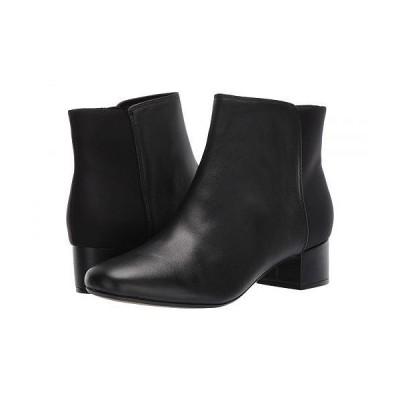 Clarks クラークス レディース 女性用 シューズ 靴 ブーツ アンクル ショートブーツ Chartli Valley - Black Combo Leather