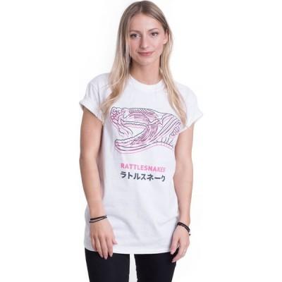 インペリコン Impericon レディース Tシャツ トップス - Snake Head White - T-Shirt white