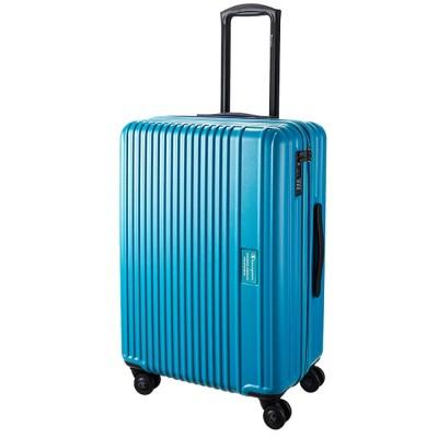 【カバンのセレクション】 チャンピオン スーツケース Mサイズ 63L/72L 拡張 軽量 champion 06642 ユニセックス ブルー フリー Bag&Luggage SELECTION