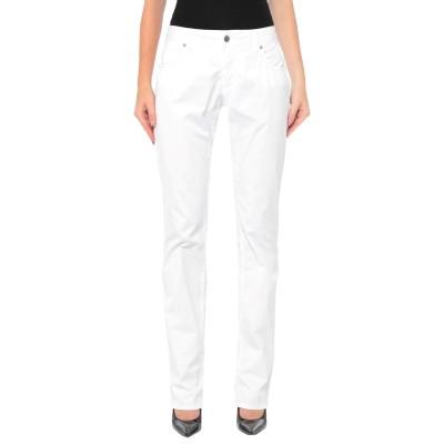 TEJIDO パンツ ホワイト 31 コットン 97% / ポリウレタン 3% パンツ