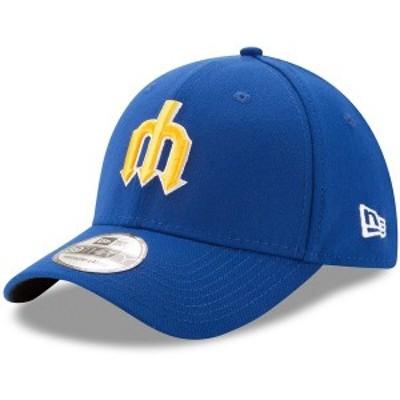 ニューエラ メンズ 帽子 アクセサリー Seattle Mariners New Era Cooperstown Collection Team Classic 39THIRTY Flex Hat Royal