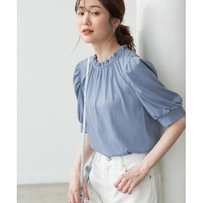 ROPE' PICNIC / 【2WAY】フリルカラーボリューム袖カットソートップス WOMEN トップス > Tシャツ/カットソー