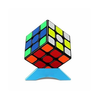QiYi Magic Cube 3x3 立体パズル 世界基準配色 競技用キューブ 魔方 対象年齢6歳以上 (公式版)