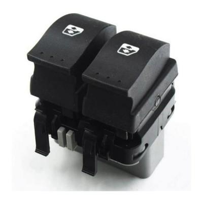 AL ウインドウ コントロール スイッチ フロント 左 マスター ボタン 適用: ルノー/RENAULT ラグナ 2 II エスパス 4 8200315042 8200315046 ブラック AL-JJ-5428
