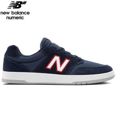 NEW BALANCE NUMERIC ニューバランス シューズ AM425NWG SHOES スウェード/メッシュ ネイビー/ホワイト NO28