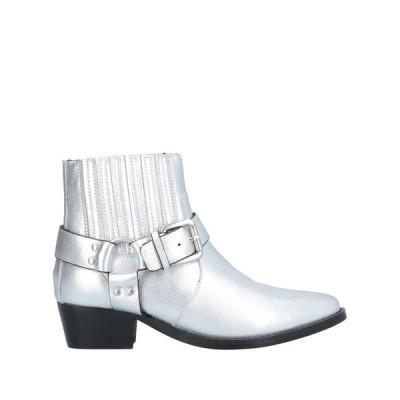 BIBI LOU ショートブーツ ファッション  レディースファッション  レディースシューズ  ブーツ  その他ブーツ シルバー