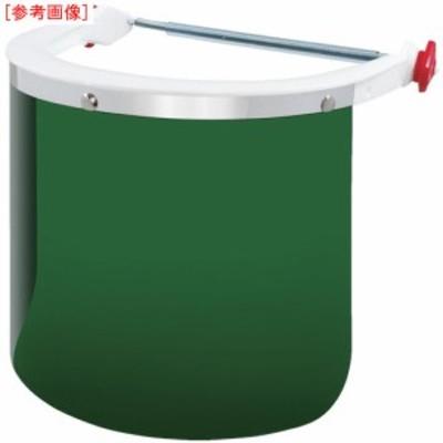トラスコ中山 tr-8345502 OTOS ヘルメット取付型防災面 グリーン#5 (tr8345502)