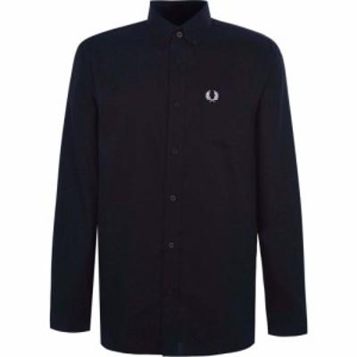 フレッドペリー Fred Perry メンズ シャツ トップス Oxford Shirt Navy