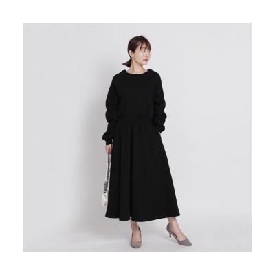 MARTHA(マーサ) 裏起毛ロングワンピース (ワンピース)Dress