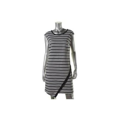 ドレス ワンピース INC INC 2809 レディース ストライプ ノースリーブ Asymmetrical Wear to Work ドレス BHFO