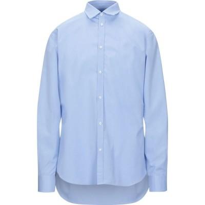 ディースクエアード DSQUARED2 メンズ シャツ トップス solid color shirt Sky blue