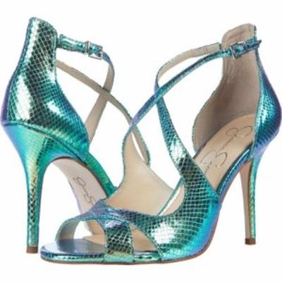 ジェシカシンプソン Jessica Simpson レディース サンダル・ミュール シューズ・靴 Averie Mermaid/Green