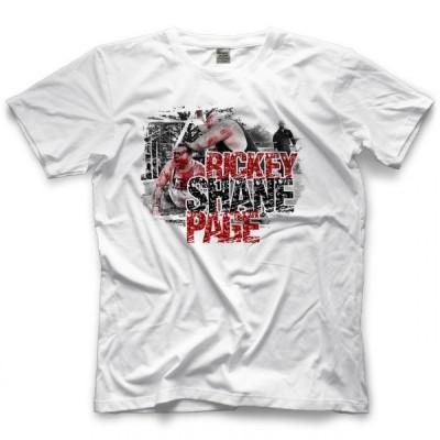 リッキー・シェイン・ペイジ Tシャツ「Rickey Shane Page The BLOOD! The PRIDE! Tシャツ」アメリカ直輸入プロレスTシャツ