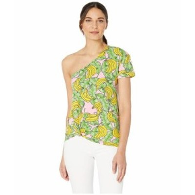 Juicy Couture ジューシークチュール 服 一般 Banana Print One Shoulder Graphic Tee
