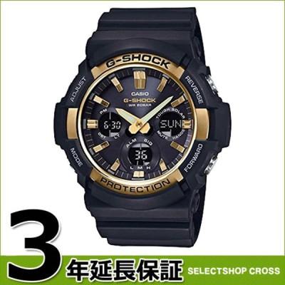 【3年保証】 カシオ CASIO Gショック G-SHOCK ジーショック タフソーラー アナデジ ブラック ゴールド メンズ 腕時計 GAS-100G-1ADR 海外モデル ポイント消化