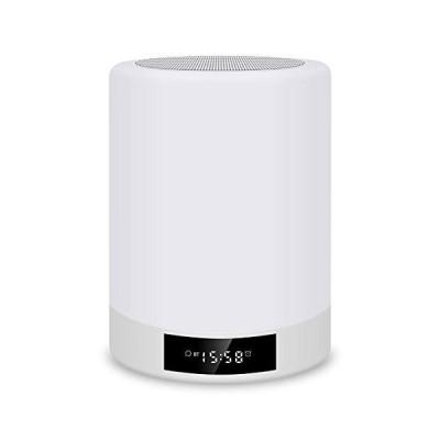 フック付き充電式ナイトライト、ベッドルームのリビングルーム用タッチセンサーランプ、ポータブルテーブル