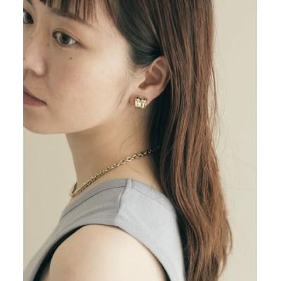 SMELLY/スメリー メタルニュアンスイヤカフ GLD -