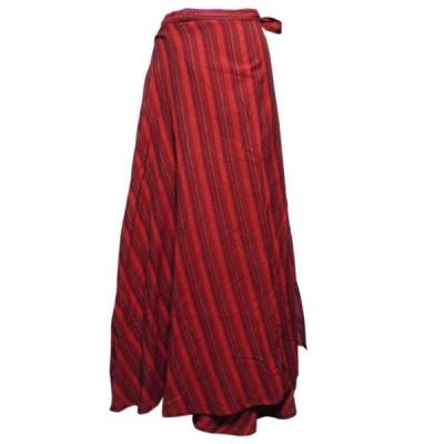 スカート アジアン衣料 ネパール・ラップスカート29 クリックポスト選択 送料200円