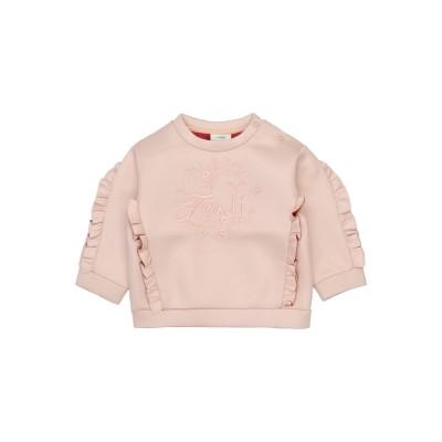 フェンディ FENDI スウェットシャツ ローズピンク 9 ポリエステル 100% スウェットシャツ