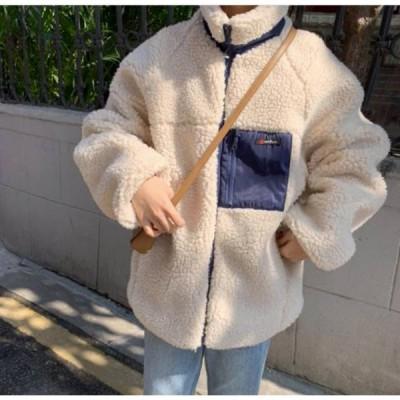 ジャケット レディース ボア ブルゾン ボアジャケット アウター 暖かい 防寒 冬 ジャンパー コート