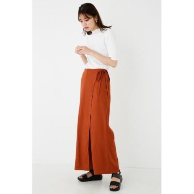 (SHEL'TTER SELECT/シェルターセレクト)ラップパンツ(Wrap Pants)/レディース BRN
