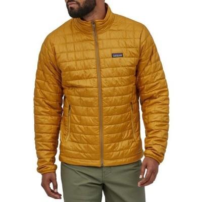 パタゴニア メンズ ジャケット&ブルゾン アウター Patagonia Nano Puff Jacket Buckwheat Gold