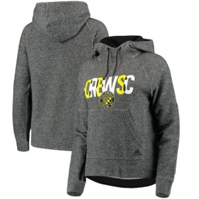 アディダス レディース パーカー・スウェット アウター Columbus Crew SC adidas Women's Inner Drop Transitional Pullover Hoodie Heat