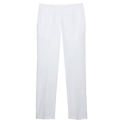 ツインセット シモーナ バルビエリ TWINSET パンツ ホワイト 38 コットン 96% / ポリウレタン 4% パンツ