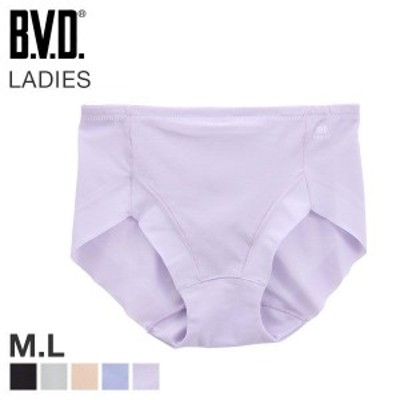 【メール便(5)】 (ビーブイディー)B.V.D. Ladies 涼ブラ スタンダード ショーツ 吸水速乾 軽量 メッシュ 単品
