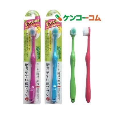 磨きやすい歯ブラシ 6列ワイドタイプ LT-31 ねじねじ ふつう ( 12本入 )