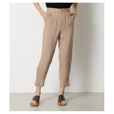 crie conforto / 裾ベルト付きミリタリーパンツ WOMEN パンツ > スラックス