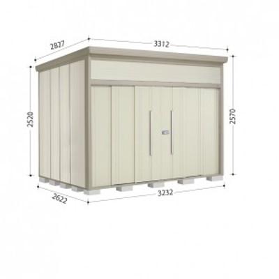 物置 屋外 おしゃれ タクボ物置 JN/トールマン JN-3226 一般型 標準屋根 『追加金額で工事可能』