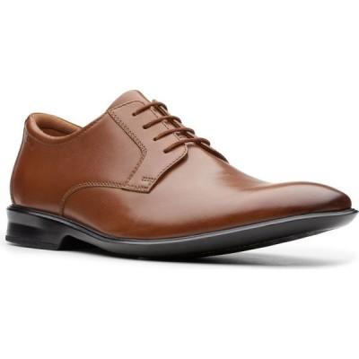 クラークス Clarks メンズ 革靴・ビジネスシューズ シューズ・靴 Bensley Lace Oxfords Dark Tan Leather