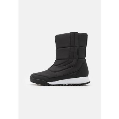 アディダス レディース スポーツ用品 TERREX COLD.RDY SHOES - Winter boots - core black/footwear white/grey four