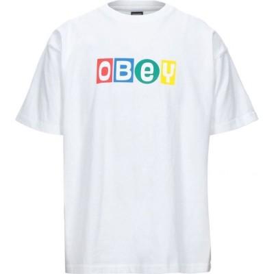 オベイ OBEY メンズ Tシャツ トップス t-shirt White